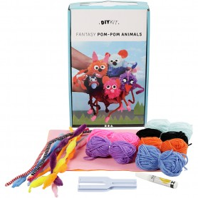 DIY Yarn Kit - Animals, 1 set