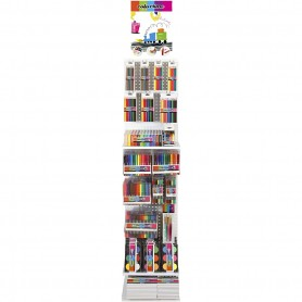 Colortime Drawing Display, assorted colours, 202 sales units/ 1 pack