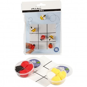 Mini Creative Kit, tic tac toe, 1 set