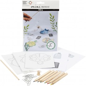 Creative mini kit, Fishing game, 1 set