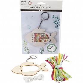Creative mini kit, Fish, 1 set