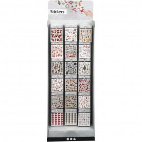 Floor display with stickers, 432 sales units/ 1 pack