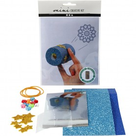 Creative mini kit, Toilet roll kaleidoscope, 1 set