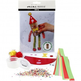 Creative mini kit, Toiletrol clown, 1 set