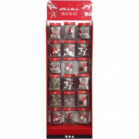 Floor display with Mini Creative Kits, H: 1500 mm, W: 580 mm, 108 sales units/ 1 pack