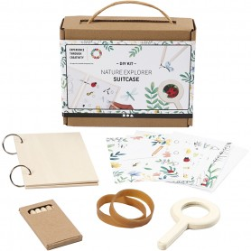 Nature explorer suitcase, 1 set
