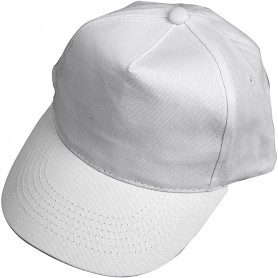 Cap, white, size 49,5-56 cm, 12 pc/ 1 pack