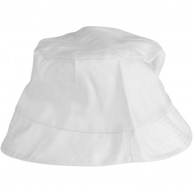 Bucket Hat, white, size 58 cm, 12 pc/ 1 pack