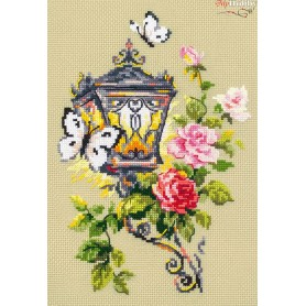Complete Counted Cross Stitch Kit 'Light of Allure' 17 x 23cm - MAGIC NEEDLE art: 100-044
