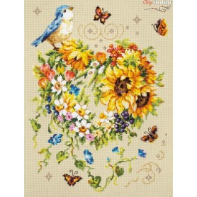 Complete Counted Cross Stitch Kit 'Inspiration of Your Heart' 26 х 34cm - MAGIC NEEDLE art: 100-141