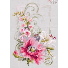 Complete Counted Cross Stitch Kit 'Happy March' 15 x 21cm - MAGIC NEEDLE art: 100-161