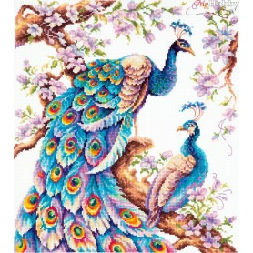 Complete Counted Cross Stitch Kit 'As Large as Life!' 32 x 36cm - MAGIC NEEDLE art: 64-06