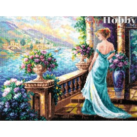 Complete Counted Cross Stitch Kit 'My Goddess' 40 x 32cm - MAGIC NEEDLE art: 65-04