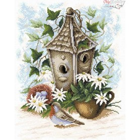 Diamond Embroidery Painting Kit Light of the summer Collection D'Art - size 38x48