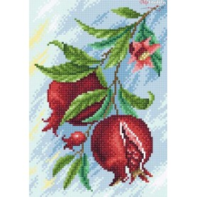 Diamond Embroidery Painting Kit Pomegranate Collection D'Art - size 19x27