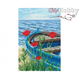 Cross-stitch kit  size (cm) 9.5x14 - RTO C337