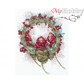 "Cross-stitch kit ""Snegirini"" size (cm) 22x29 - RTO M822"
