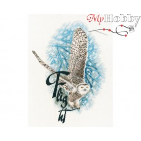 "Cross-stitch kit ""Flight"" size (cm) 25x34 - RTO M816"