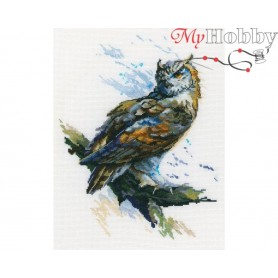 "Cross-stitch kit ""Eagle Owl"" size (cm) 21x27 - RTO M804"
