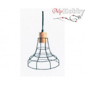 "Cross-stitch kit ""Loft-styled lamp"" size (cm) 9.5x17.5 - RTO M801"