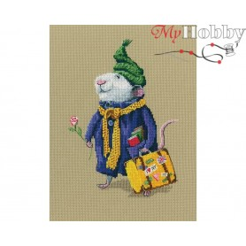 "Cross-stitch kit ""Wonderful and sublime world"" size (cm) 14x20 - RTO M798"