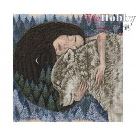"Cross-stitch kit ""Forest Heartbeat"" size (cm) 32.5x32.5 - RTO M792"