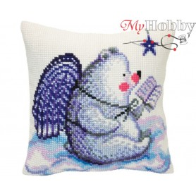 Cross Stitch Cushion Kit - Fairy tales of the stars, size (cm) 40x40 - D'Art 5421