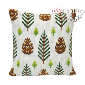 Cross Stitch Cushion Kit - Strobiles, size (cm) 40x40 - D'Art 5415