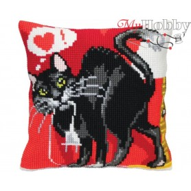 Cross Stitch Cushion Kit - Reload, size (cm) 40x40 - D'Art 5407