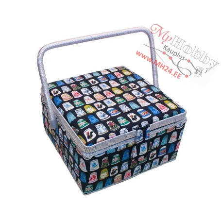 RTO Toolbox / Sewing basket 3998-RT-32, size 23x23x14cm, 1pc