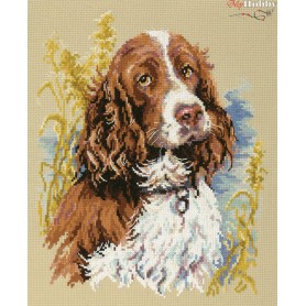 Complete Counted Cross Stitch Kit 'My Dog' 23 x 27cm - MAGIC NEEDLE art: 59-14