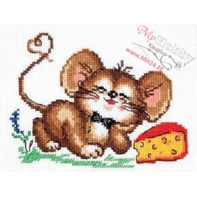 Complete Counted Cross Stitch Kit 'Successful life' 14 x 11cm - MAGIC NEEDLE art: 18-56