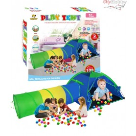 Children's play tent with tunnel OC102