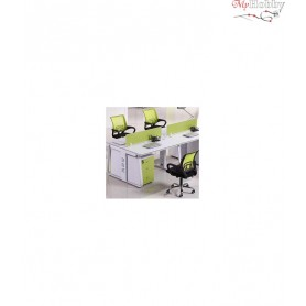 Swivel office chair VANGALOO DM8136, black with green back