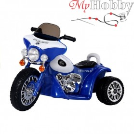 High quality electric blue tricycle POLICE (WDJT568)