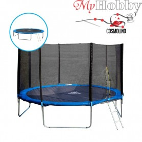 Trampoline with safety net 4,90 m. (16FT-3)