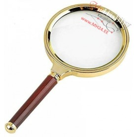 Handheld Magnifier, Plastic Handle 17x Magnifying Glass 80mm