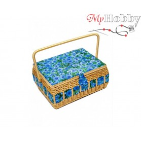 Toolbox / Sewing basket 'Wise Raven', size: 34 x 26.5 x 17cm - 4117-RT-21