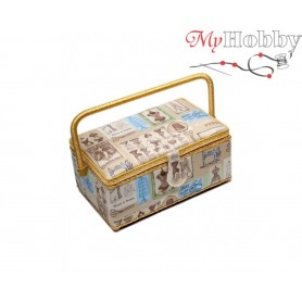 Toolbox / Sewing basket 'The Great Bear', size: 29 x 18 x 13.5cm - 4102-RT-57