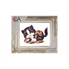Half Cross Quick Stitch Kits, 14x18cm, CollectionDArt