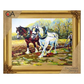 Half Cross Quick Stitch Kits, 22x30cm, CollectionDArt