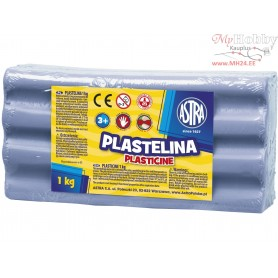 Plasticine ASTRA 1 kg light blue