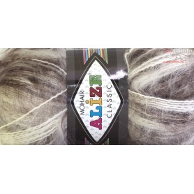 Yarn Alize Mohair Classic 100gr. - color #  01-92