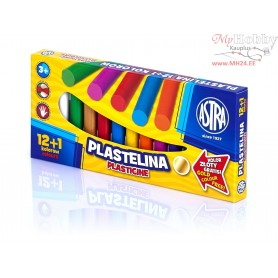Plasticine ASTRA 12 colors + 1 free color