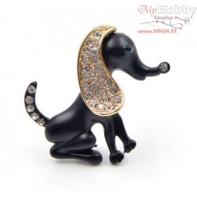"Broche ""Black Doggy"""